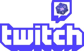 Tabletop Gaming On Twitch Logo