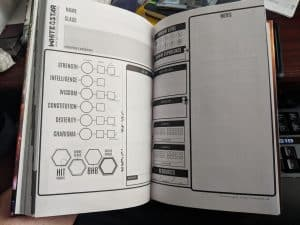 White Star Character Sheet