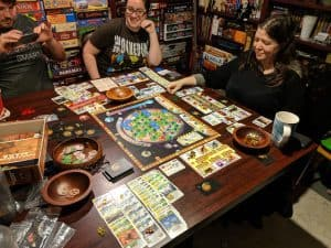 Four player Terraforming Mars