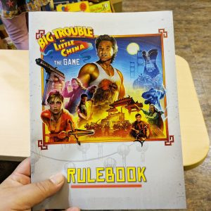 Big Trouble In Little China The Board Game Rulebook