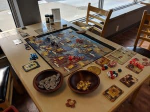 Bioshock Infinite the Board Game a rather interesting take on the video game