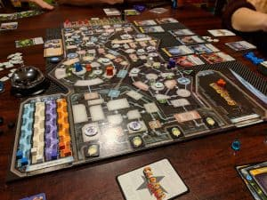 Clank In Space which many consider to be the better board game when compared to Clank!