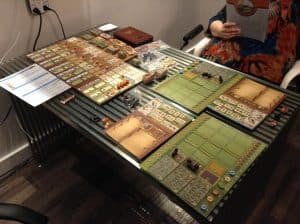 It is great to see big heavier board games like Fields Of Arle coming out for two players.