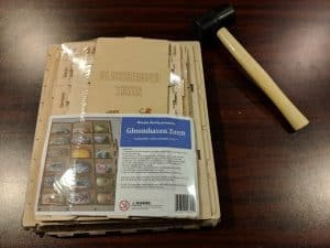 The Gloomhaven town box insert from Meeple Reality for the most popular board game in the world