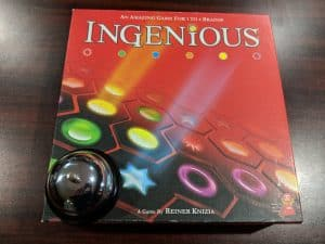 Ingenious is a perfect family board game. Perfect for couples and for playing with the kids.
