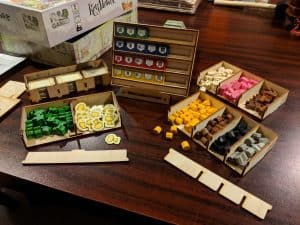 The Keyflower box insert from Meeple Realty