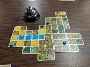 If you dig making patterns in your boardgames check out Honshu