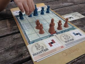 Onitama is a fantastic two player abstract board game that both my wife and my kids love