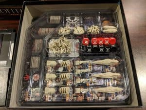 Game Trayz are light plastic inserts that give you a place for everything without adding weight to your board game