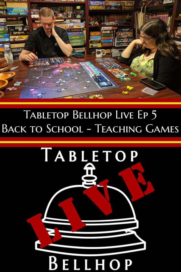In this episode we talk about how to teach board games. #TeachingGames #TeachingBoardGames #HowToTeachGames #TabletopBellhop #boardgames #tabletop