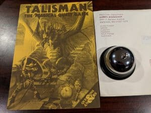The Questions & Answers booklet for Talisman The Magical Quest Game from GamesWorkshop