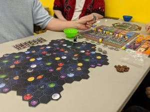Learning to play Gaia Project the boardgame. A follow up to Terra Mystica