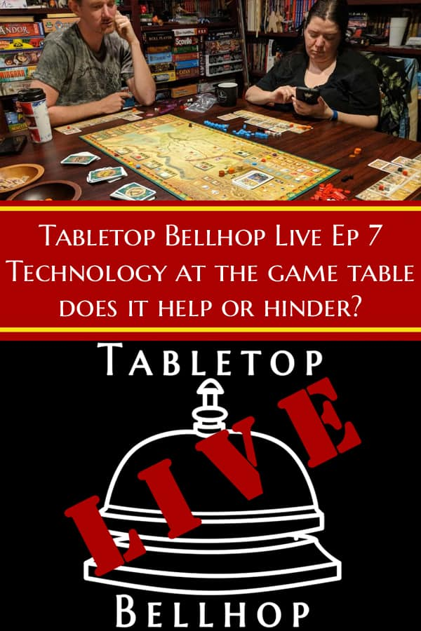 Some people love it, some can't live without it, some hate it. Tech at the game table. #Advice #GamingAdvice #TeachAtTheTable #TabletopBellhop #boardgames #tabletop