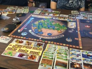 Terraforming Mars by Stronghold Games. One of the best board games in my collection.