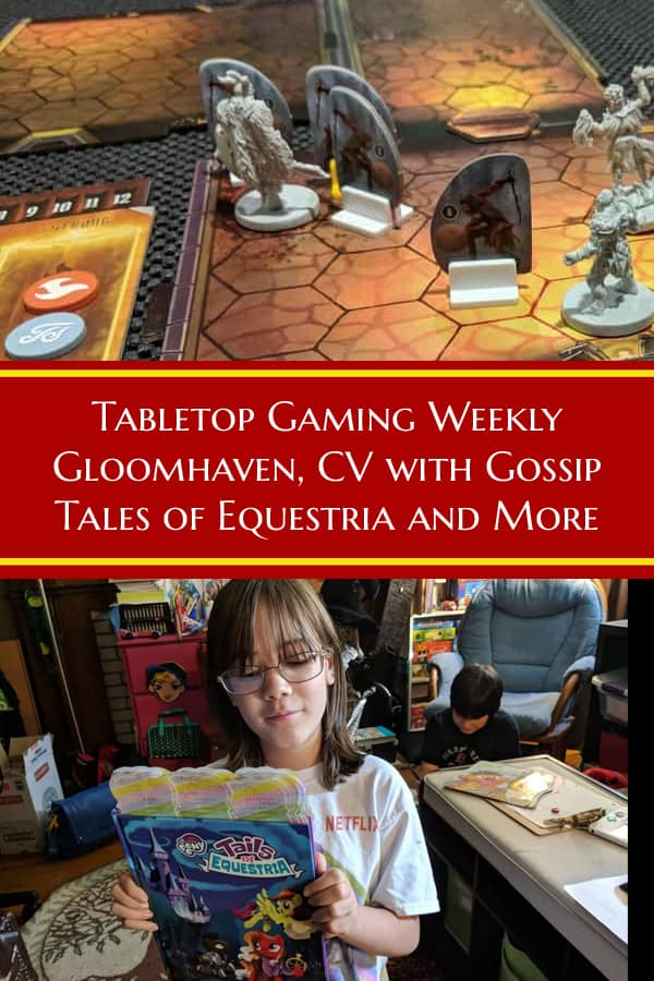A look at Gloomhaven, an expansion for CV, Terraforming Mars, Tales of Equestria the My Little Pony RPG and Rockerboys & Vending Machines. #TabletopReview #Roleplaying #RPGs #TabletopBellhop #boardgames #tabletop