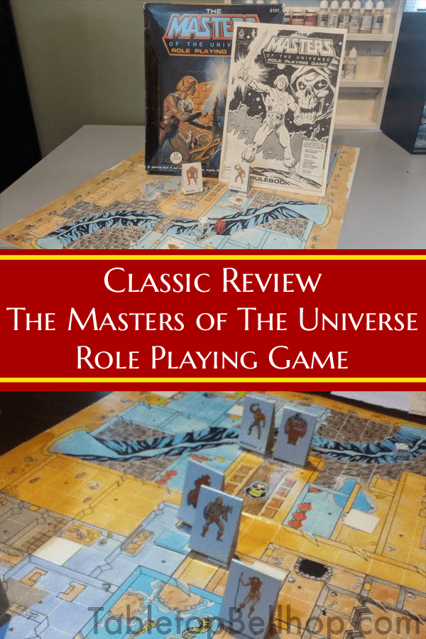 FASA Masters of the Universe Role Playing Game. Review. #Review #RPGReview #GameReview #MotU #MastersOfTheUniverse #TabletopBellhop #boardgames #tabletop
