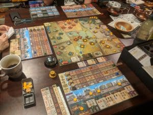 Playing in the Age of Sail and meeting at the Crossroads – Tabletop Gaming Weekly