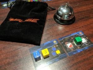 Fuse is a fast and furious cooperative dice game from Renegade Games