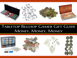 Gamer Gift Guide Money - Must have tabletop gaming accessories - Ask The Bellhop