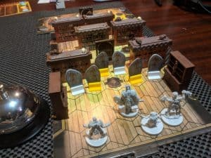 Improving Gloomhaven the board game with scenery from the classic HeroQuest