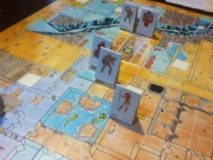 In play shot of the He-Man roleplaying game by FASA