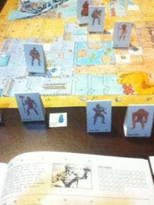 FASA games put out a He-Man roleplaying board game. This is a picture