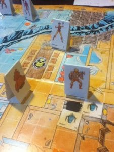 He-Man, Orco and Teela infiltrate Snake Mountain in the Masters of the Universe Role Playing Game by FASA