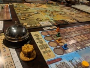 Endeavor Age of Sail Commodore Edition off off the Kickstarter presses