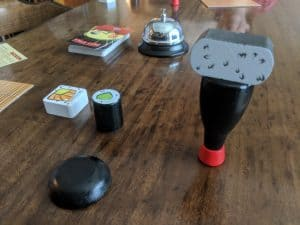 A great game to play with your kids is Maki Stack from Blue Orange Games.