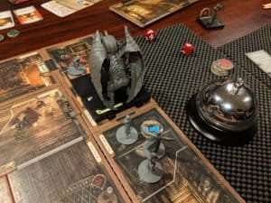 Mansions of Madness Second Edition is a fantastic cooperative game great for playing on Halloween