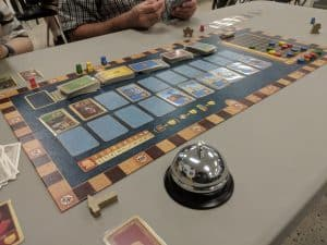 Saint Petersburg being played at the Friendly Local Game Store