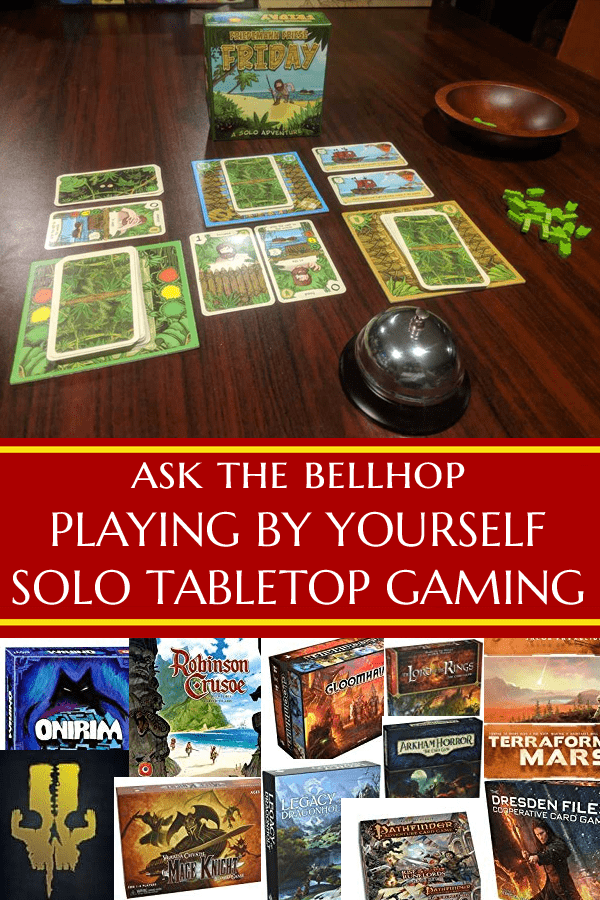 What are some of the best one player board games? #GamingAdvice #OnePlayer #SoloPlay #OnePlayerGames #TabletopBellhop #boardgames #tabletop