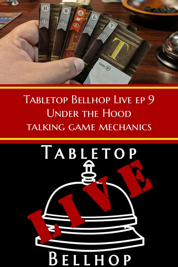 A huge list of over 50 game mechanics. Lost, not sure what terms like Worker Placement mean. Head on over. #Advice #GamingAdvice #GameMechanics #Mechanics #TabletopBellhop #boardgames #tabletop