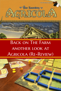 Agricola Review - Back on the farm - Another look at Agricola