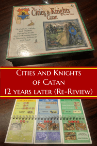 Cities And Knights - Cities and Knights of Catan 12 Years Later