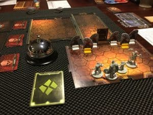 Use shelf linter to solve the problem of map tiles sliding around in Gloomhaven.