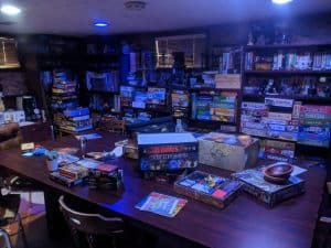 My Blue Game Room - Must have tabletop gaming accessories - Ask The Bellhop