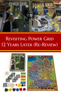 Power Grid Re Review - Revisiting Power Grid 12 years later - Classic board game review