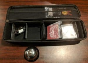 The Contest of a Quiver Card Carrying Case