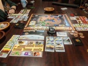 Terraforming Mars with the Venus Next Expansion.