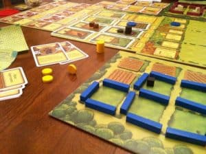 Agricola the original Mayfare games edition of Misery Farm