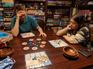 If you want a board game suggestion, that's probably good for almost anyone, go with Azul.