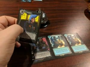 Cypher the card game from AEG.