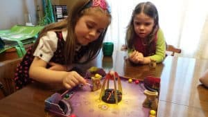 Magician's Kitchen is a very cool magnet based board game for kids.