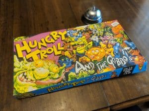 Box for Hungry Troll and The Gobos a kids game from 1989