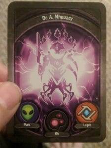 KeyForge deck featuring Mars, Dis and Logos