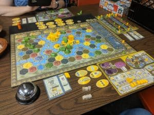 Terra Mystica is one of the best asymmetric board games out there.