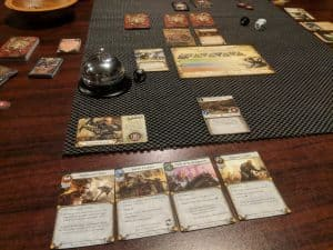 Warhammer Quest: The Adventure Card game from Fantasy Flight Games.