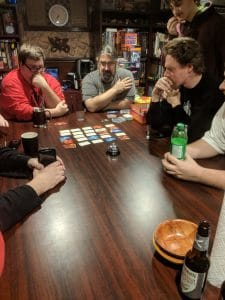 The Tabletop Bellhop playing Codenames