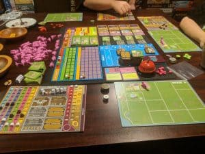 The Xtreme edition of Dinosaur Island from Pandasaurus Games.